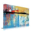 Maxwell Dickson 'Spring in the Air' Abstract Painting Print on Wrapped Canvas