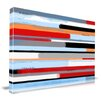 Maxwell Dickson 'Stream' Abstract Graphic Art on Wrapped Canvas