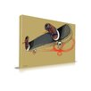 <strong>'Skater Skateboard' Graffiti Graphic Art on Wrapped Canvas</strong> by Maxwell Dickson
