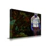 Maxwell Dickson 'The Gentleman' Graffiti Graphic Art on Wrapped Canvas