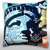Maxwell Dickson Statue of Liberty Mural Throw Pillow