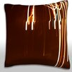 Maxwell Dickson Abstract Light Exposure Throw Pillow