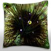 Maxwell Dickson Long Spined Sea Urchin (Diadema Antillarum) Throw Pillow