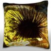 Maxwell Dickson Reef Urchin (Echinometra Viridis) Throw Pillow