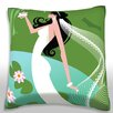 Maxwell Dickson Wedding Bride Throw Pillow