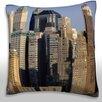 Maxwell Dickson Building Exterior New York City Throw Pillow