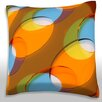 Maxwell Dickson Abstract Dots Throw Pillow
