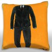 Maxwell Dickson Suit and Tie Throw Pillow