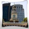 Maxwell Dickson Independence Hall in Philadelphia, PA, USA Throw Pillow