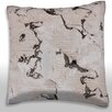 Maxwell Dickson Cracked Plaster Wall Throw Pillow