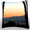 Maxwell Dickson Beach, Santa Monica, Los Angeles, California Throw Pillow