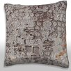 Maxwell Dickson Close-Up of Abstract Surface Throw Pillow