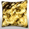 Maxwell Dickson Blurred Glass Surface Throw Pillow