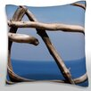 Maxwell Dickson Wood Formation By Sea Throw Pillow