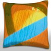 Maxwell Dickson Close-Up of Painted Mural Throw Pillow