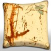 Maxwell Dickson Corroded Metal Surface Throw Pillow
