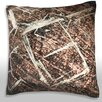 Maxwell Dickson Abstract Shapes on Floor Throw Pillow
