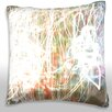 Maxwell Dickson Bright Color Conception Throw Pillow