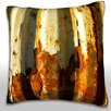 Maxwell Dickson Corroded Metal Wall Throw Pillow