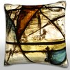 Maxwell Dickson Cathedral Background Throw Pillow