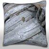 Maxwell Dickson Splintering Wood Panel Throw Pillow