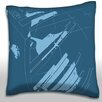 Maxwell Dickson Dark Decorative Laser Throw Pillow