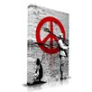 "Maxwell Dickson ""Time for Peace"" Graphic Art on Canvas"