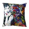 Maxwell Dickson 'Audrey Hepburn' Throw Pillow