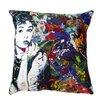 Maxwell Dickson 'Audrey Hepburn' Throw Pillow