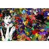 Maxwell Dickson Audrey Hepburn Graphic Art on Canvas