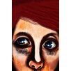 Maxwell Dickson Eye Girl Painting Print on Canvas