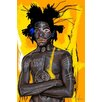 <strong>'New Cabesa' by Jean Michel Basquiat Graphic Art on Wrapped Canvas</strong> by Maxwell Dickson