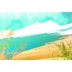 "Maxwell Dickson ""Paradise Sand"" Graphic Art on Canvas"