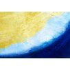 Maxwell Dickson 'Waves' Abstract Graphic Art on Wrapped Canvas