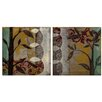 <strong>Elico LTD</strong> Woodland Fantasy 2 Piece Graphic Art Plaque Set