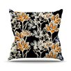 KESS InHouse Crocus Throw Pillow