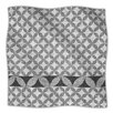 <strong>Diamond Black Microfiber Fleece Throw Blanket</strong> by KESS InHouse