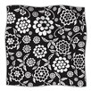 KESS InHouse Cherry Floral Microfiber Fleece Throw Blanket