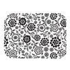 <strong>Cherry Floral White Placemat</strong> by KESS InHouse