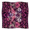 KESS InHouse Rose Strip Microfiber Fleece Throw Blanket