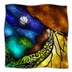 KESS InHouse Psalms Microfiber Fleece Throw Blanket