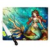KESS InHouse Serene Siren Cutting Board
