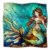 KESS InHouse Serene Siren Microfiber Fleece Throw Blanket