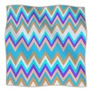 KESS InHouse Girly Surf Chevron Fleece Throw Blanket