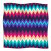 KESS InHouse Surf Chevron Fleece Throw Blanket