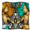 KESS InHouse Mermaid Twins Microfiber Fleece Throw Blanket