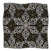 KESS InHouse Ethnical Snowflakes Microfiber Fleece Throw Blanket
