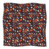 KESS InHouse Retro Tile Microfiber Fleece Throw Blanket