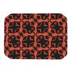 KESS InHouse Oval Orange Love Placemat