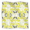KESS InHouse Azulejos Microfiber Fleece Throw Blanket